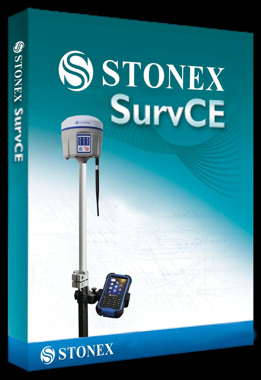 Стала доступна новая версия Stonex SurvCE